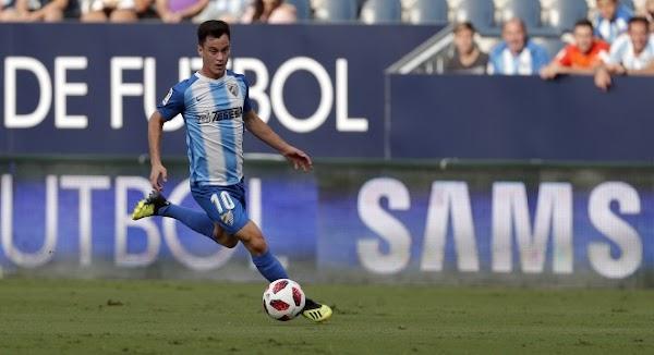 Oficial: Málaga, Juanpi cedido al Huesca