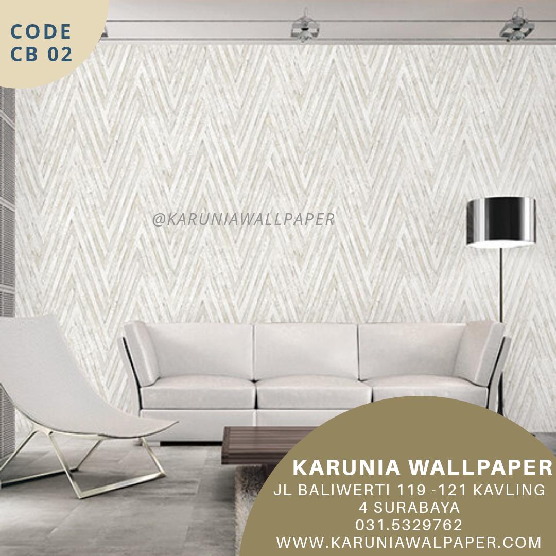jual wallpaper motif batu bata abu abu
