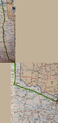 Shamrock to Wichita Falls, TX
