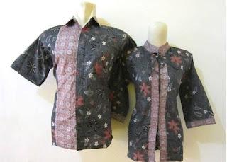 Contoh Model Baju Batik Kerja Guru