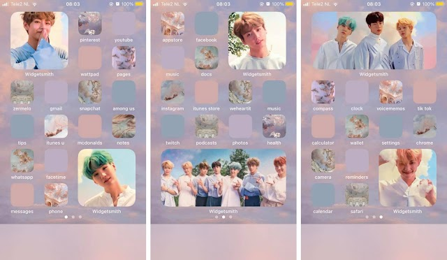 iOs14 K-pop inspiration to die for #1