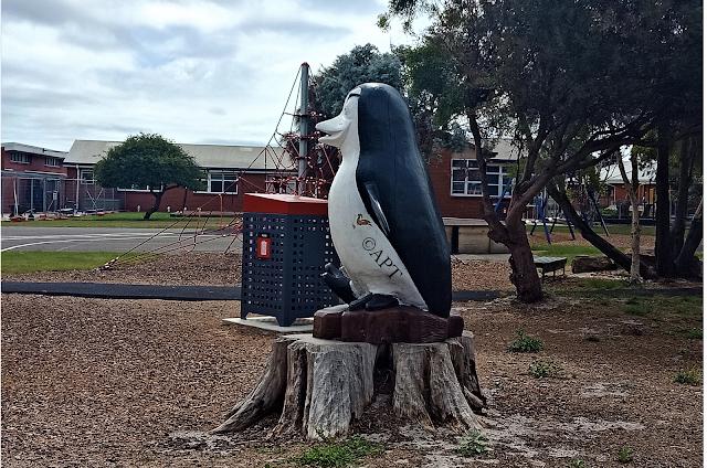 Penguin Sculpture, George town   Public Art Tasmania