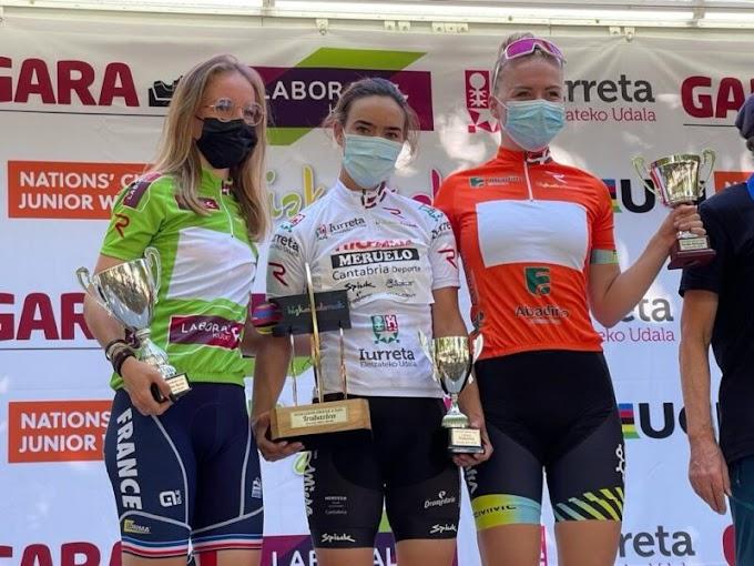 Lucía Ruiz (Río Miera - Meruelo - Cantabria Deporte junior) lidera la Bizkaikoloreak