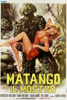 Matango aka Attack of the Mushroom People (1963) adaptación del relato Una voz en la noche