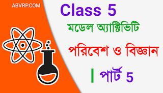 Class 5 Model activity task Amader paribesh Part 5 august 2021