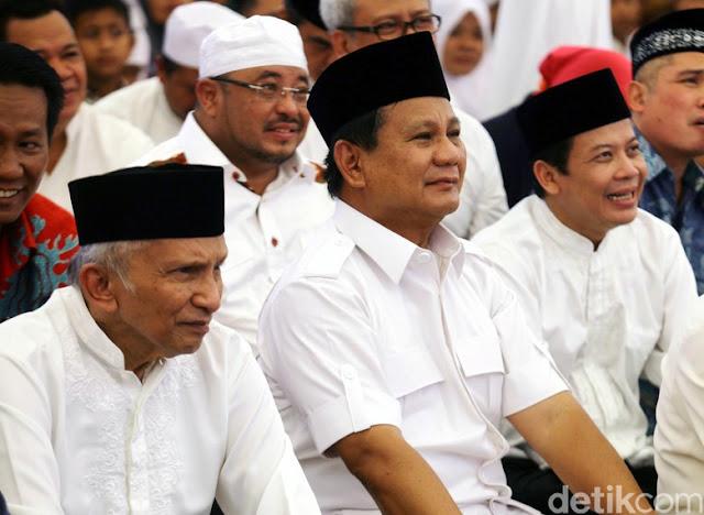 Siapa Coba Rusak Hubungan Prabowo dan Amien?