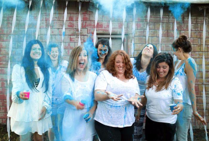 Color Powder Gender Reveal >> Gender Reveal Party Ideas With Color Powder Color Blaze Supply