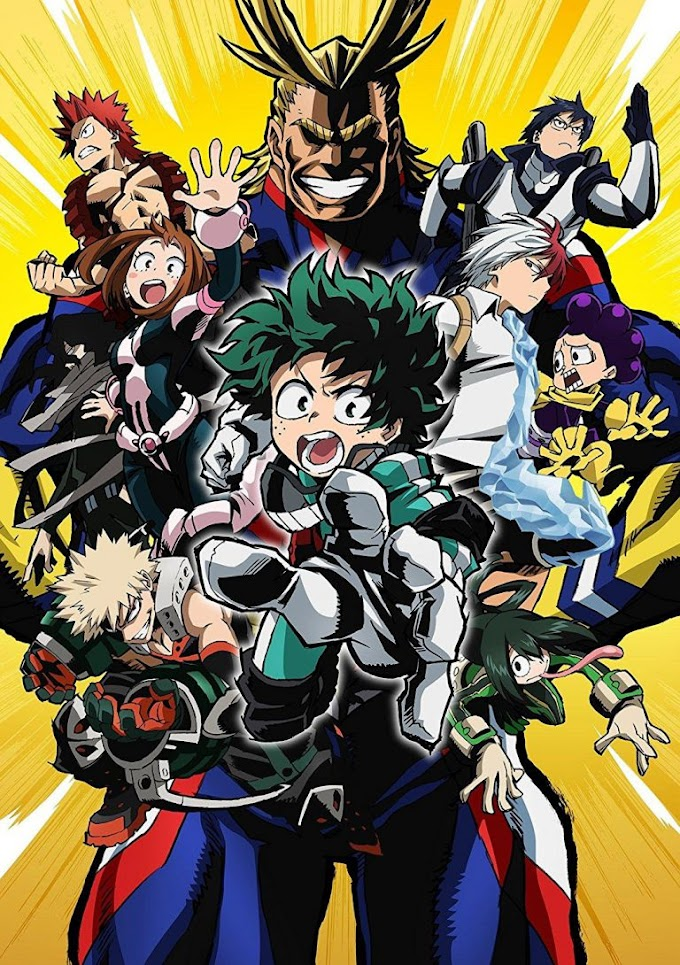 Boku no Hero Academia Season 01 Completo Legendado Download 720p!