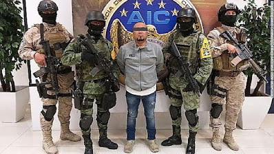"Mexican security forces on Sunday arrested the alleged leader of the Santa Rosa de Lima Cartel, José Antonio Yépez Ortiz, commonly known as ""El Marro"" -- the Sledgehammer."