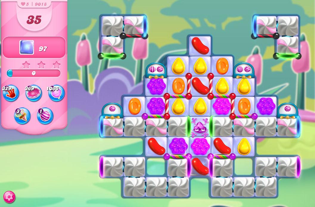 Candy Crush Saga level 9018