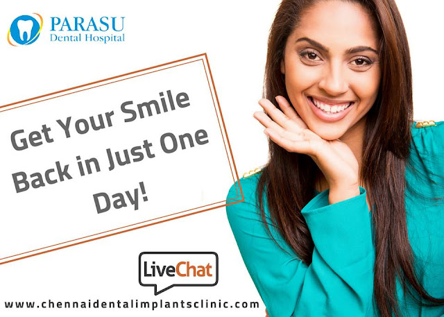 one day dental implants chennai