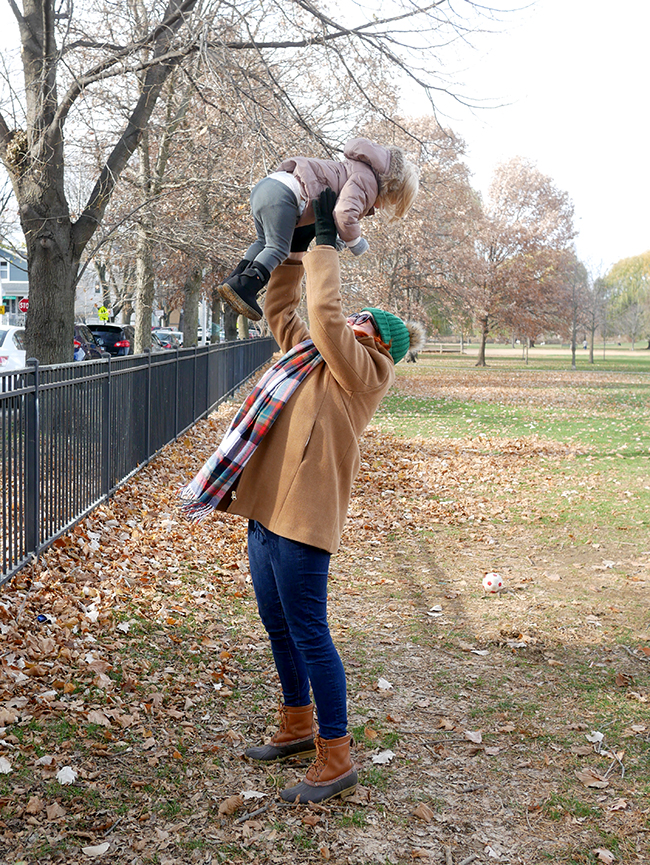 What to wear to the park as a mom