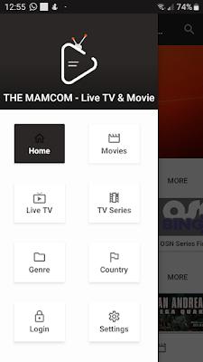 تحميل تطبيق THE MAMCOM لمشاهدة القنوات المشفرة