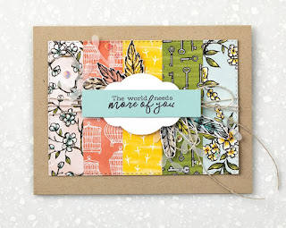 Stampin' Up! Bird Ballad Designer Paper Projects ~ 2019-2020 Annual Catalog ~ Free as a Bird