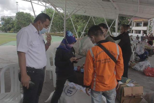 DLH Kota Batam Memasifkan Gerakan Pilah Sampah dari Rumah Dalam Memperingati World Clean Up Day 2021