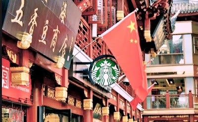Starbucks Open World's largest Outlet In China