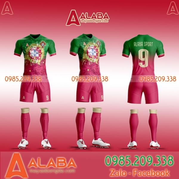 Áo đá bóng đội Bồ Đào Nha