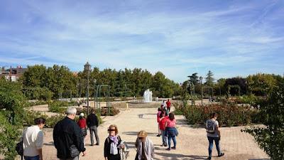 Rosaleda. Parque de la Cuña Verde