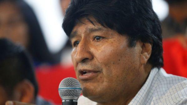 Evo Morales denuncia mentiras del gobierno de facto de Bolivia