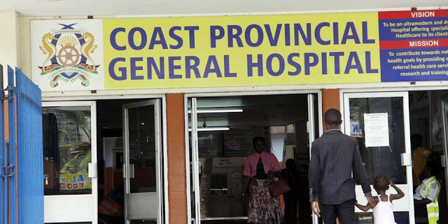 Coast General Hospital in Mombasa