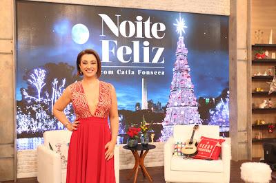 """Catia Fonseca apresenta o especial de Natal """"Noite Feliz"""" - Leandro Teixeira/Band"""