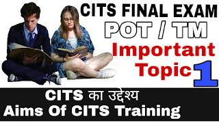 Craft Instructor Training Scheme