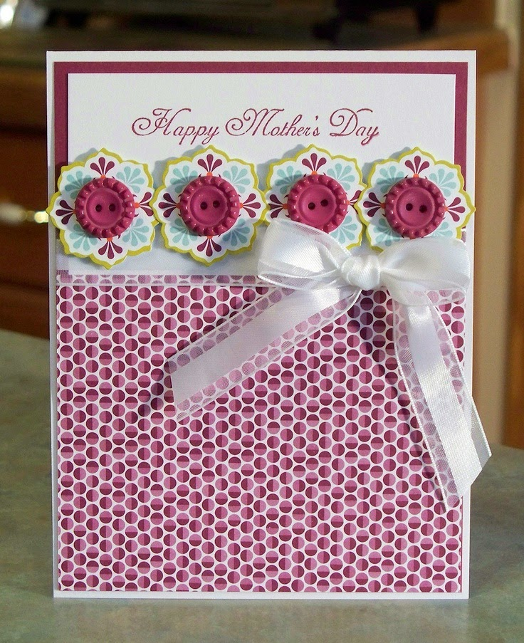 Handmade Mother's Day Cards ~ Mother's Day 2014