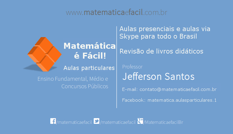 2ª Apostila digital gratuita de Matemática para concursos públicos