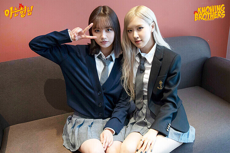 Nonton streaming online & download Knowing Bros eps 272 bintang tamu Hyeri (Girl's Day) & Rosé (Blackpink) subtitle bahasa Indonesia