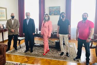 Συνάντηση φορέων της γούνας με την Επικεφαλής του Γραφείου του Πρωθυπουργού στη Θεσσαλονίκη