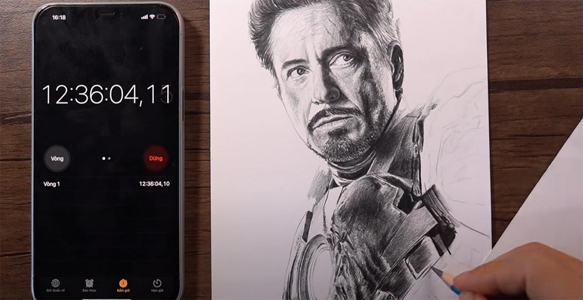 Desenhando retratos geek ultra realistas até que o lápis acabe
