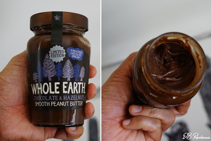 Whole Earth Chocolate & Hazelnut Smooth Peanut Butter