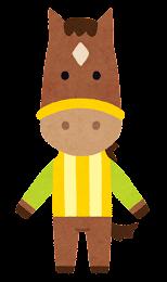 競走馬のキャラクター5