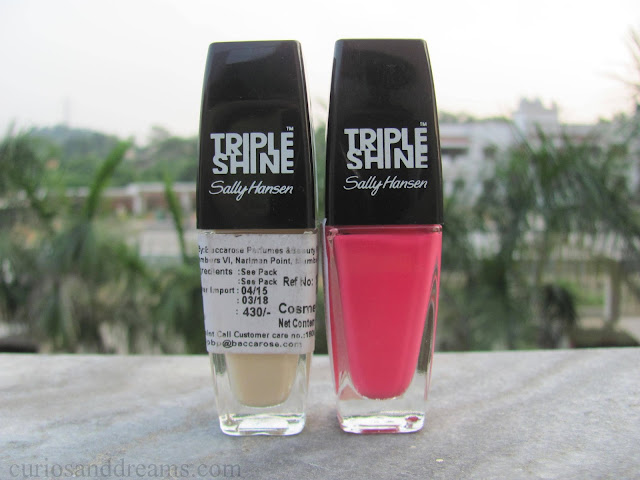 Sally Hansen Triple Shine Nail Colour review, Sally Hansen Triple Shine Nail Colour reef raf review, Sally Hansen Triple Shine Nail Colour great white review