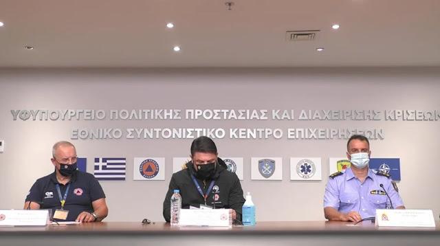 Τώρα: Έκτακτη ενημέρωση για την πυρκαγιά στο Σχίνο Κορινθίας (βίντεο)