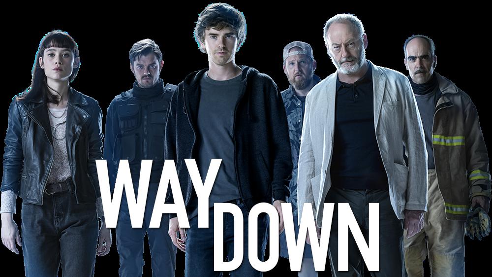 Way Down AKA The Vault 2021 Dual Audio Hindi-English 720p BluRay