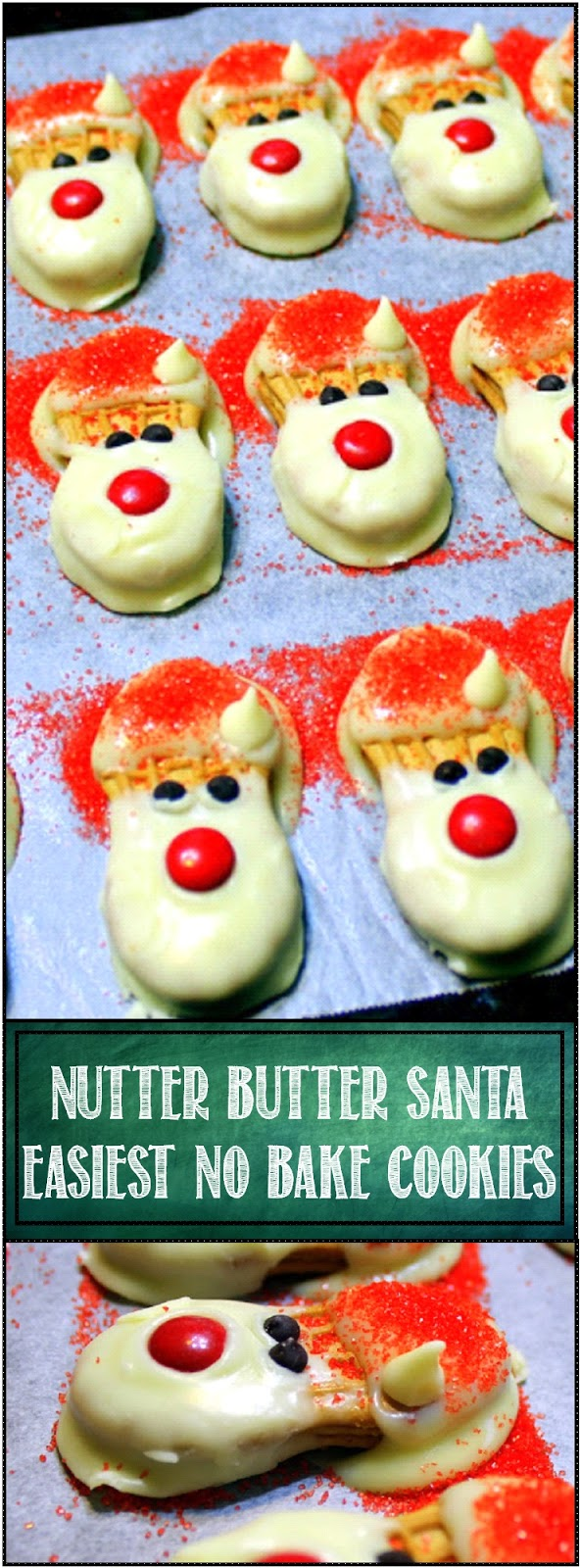 52 Ways to Cook: EASIEST NO BAKE CHRISTMAS COOKIE EVER - Nutter ...