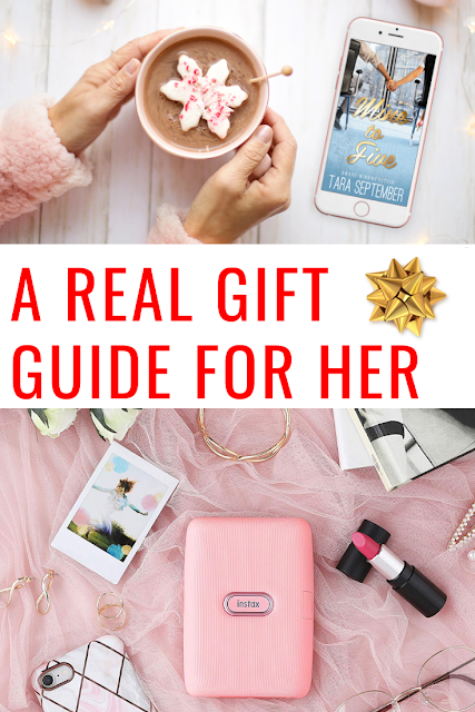 Real Holiday Gift Guide for Her - #Gifts She'll Actually Want for Christmas #ChristmasGifts