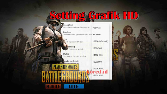 Setting Grafik HD Pubg Mobile Lite