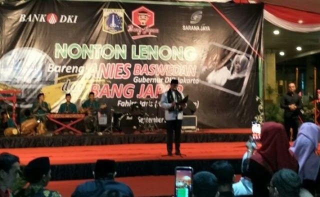 Nonton Lenong Bareng Anies Baswedan Bersama Bang Japar