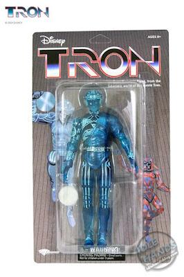 SDCC 2021 Diamond Select Tron Retro Deluxe Action Figure Box Set 07