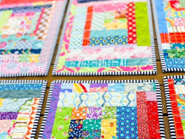 Bigger and Better Quilted Placemats