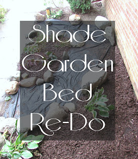 Shade Garden Bed Makeover