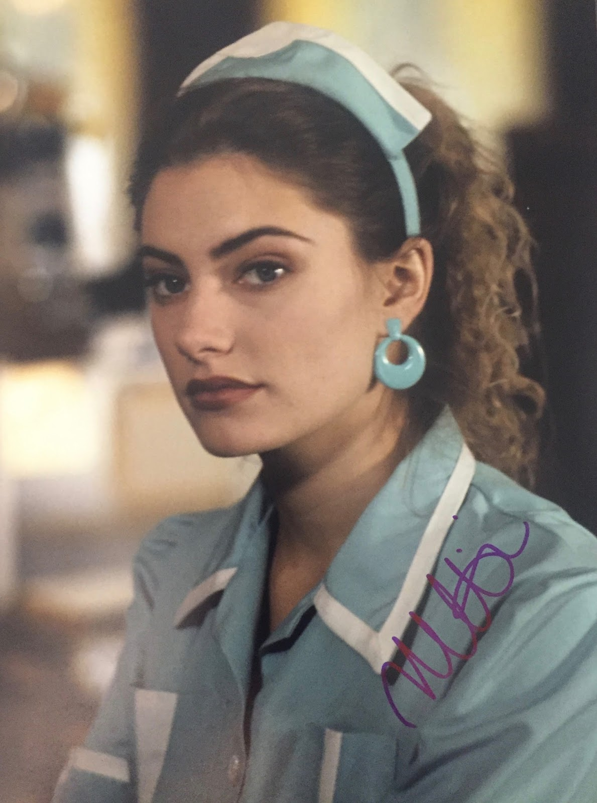 Initforthemoney 39 s autograph collection madchen amick for Kinderzimmerlampe madchen