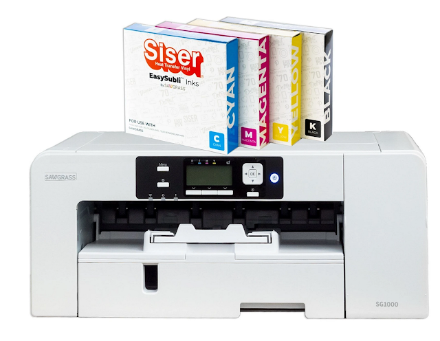 sawgrass, silhouette and sublimation, sublimation printing, sublimation printer, SG1000