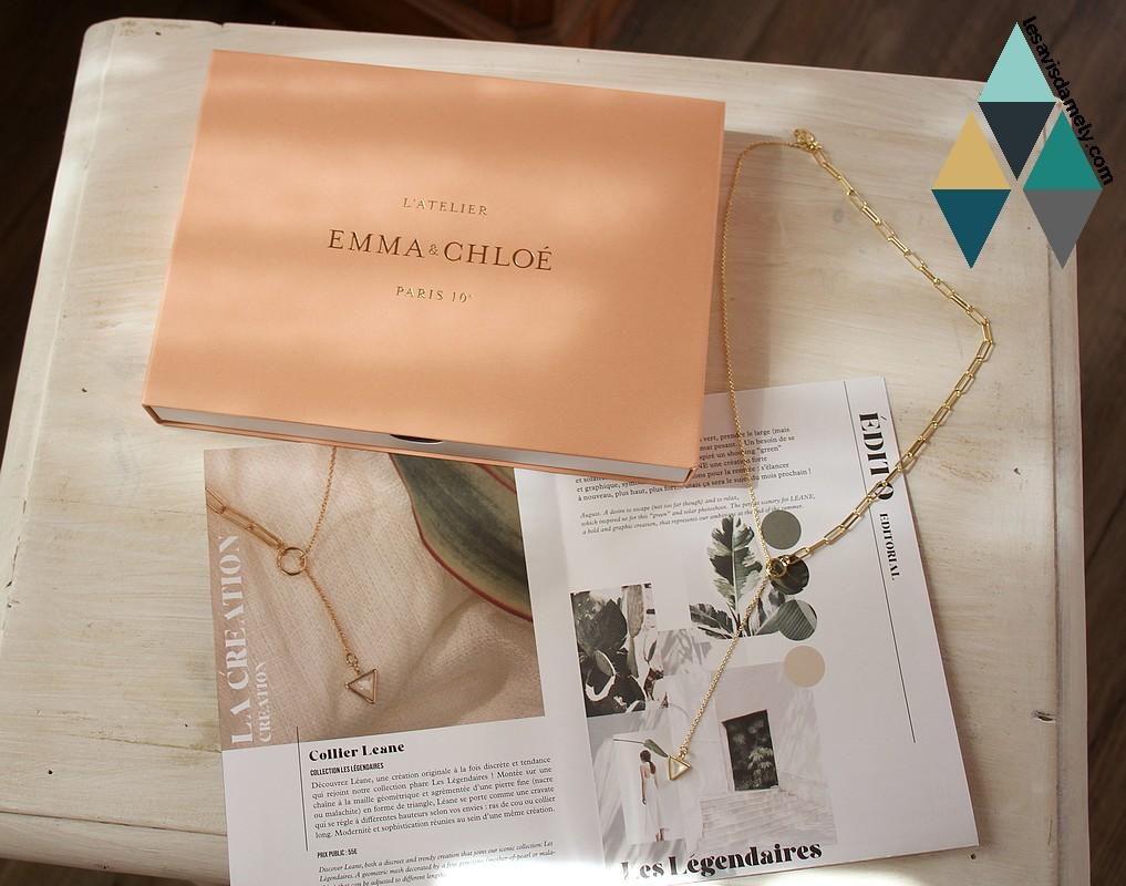 revue beauté box bijoux emma & chloé