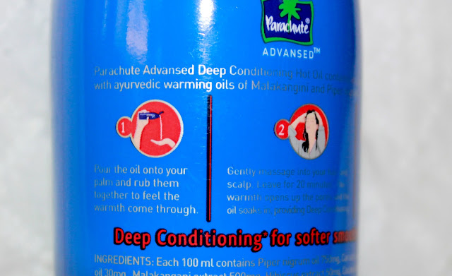 Parachute Advansed Deep Conditioning Hot Oil Review