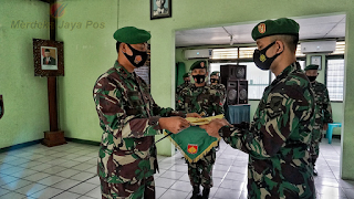 Dandim Jepara Pimpin Langsung Korp Raport Pindah Santuan Anggota