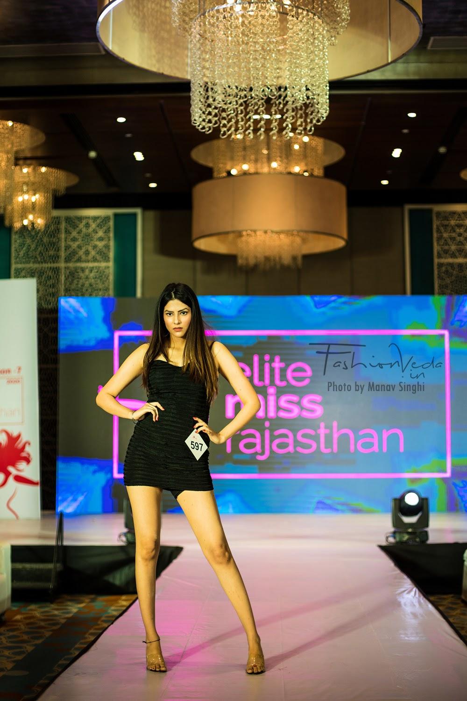 Participant at Elite Miss Rajasthan 2020