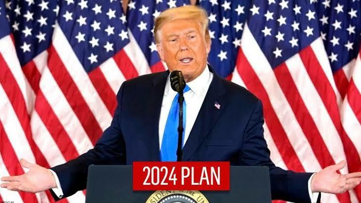 Trump speech for 2024 election